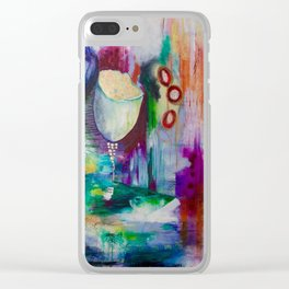 Transformative Growth Clear iPhone Case
