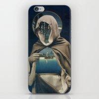 sailor iPhone & iPod Skins featuring SAILOR by Julia Lillard Art