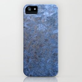 The freezing glass. iPhone Case