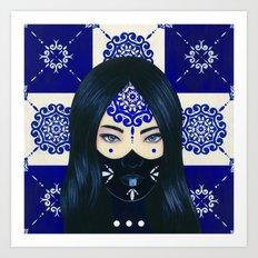 Tiles III Art Print