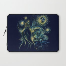 Death Starry Night Laptop Sleeve