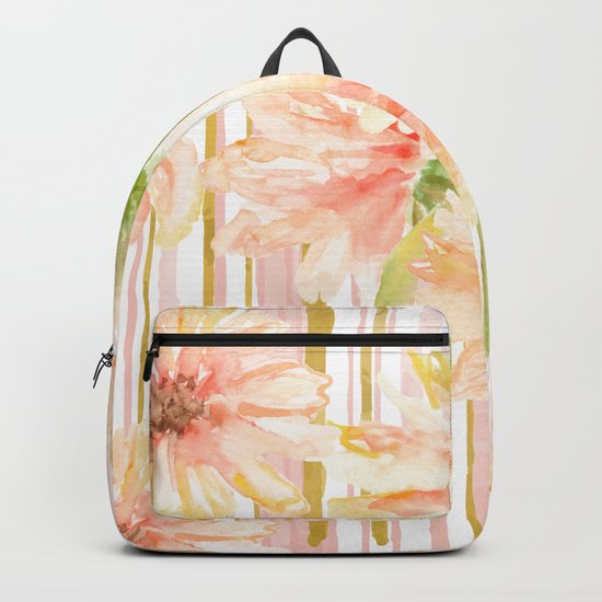 Calm and linear nature Backpack