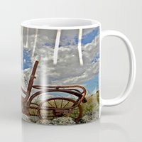 amelie Mugs featuring Amelie by Joe Pansa