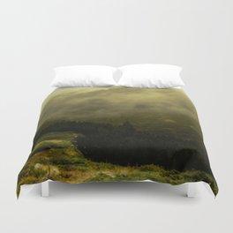 misty mountain Duvet Cover