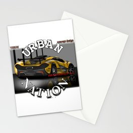 Street car - Supercar by SH Design Stationery Cards