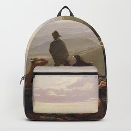 Jerome Thompson - The Belated Party on Mansfield Mountain Backpack