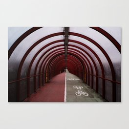 Surface Tension: Tunnel to SEC Canvas Print