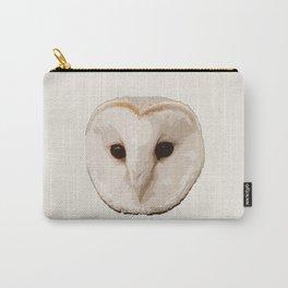 barn owl Head Carry-All Pouch