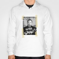 crowley Hoodies featuring Vote Crowley! by KanaHyde