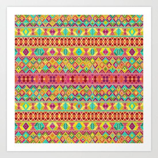 acid weave Art Print
