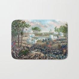 Battle of Cold Harbor Bath Mat