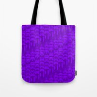 video game Tote Bags featuring Video Game Controllers - Purple by C.Rhodes Design