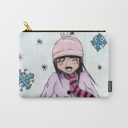 MANGA GIRL SNOW Carry-All Pouch