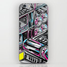 Metal Machine iPhone Skin