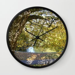 St. Stephen's in Autumn Wall Clock