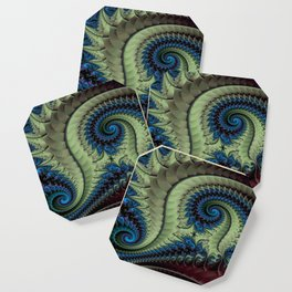 Fractal Abstract 87 Coaster