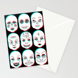 Pediophobia Stationery Cards