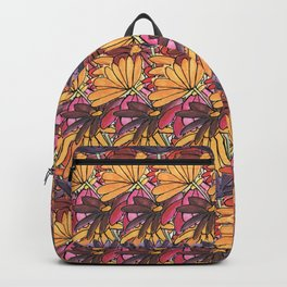 Summer Flowers Pattern Backpack