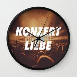 KONZERT LIEBE Wall Clock