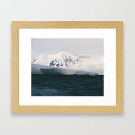 No Man's Land Framed Art Print