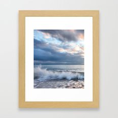 Frozen Wave Framed Art Print