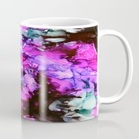 siren Mugs featuring Siren by Claire Day