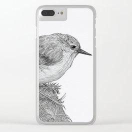 Rifleman - New Zealand Native Bird Clear iPhone Case