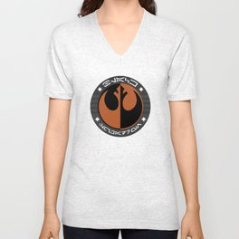 Black Squadron (Resistance) Unisex V-Neck