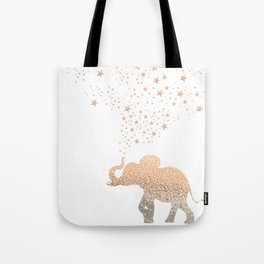 GOLD ELEPHANT Tote Bag
