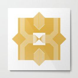 Geometric #5 Metal Print