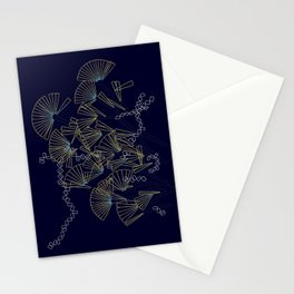 Licmophora - naive diatoms Stationery Cards
