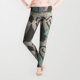Abstract Cats Leggings