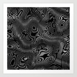 Ramecam Grey #7 Art Print