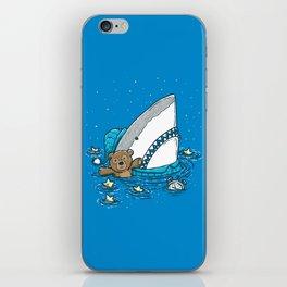 The Sleepy Shark iPhone Skin