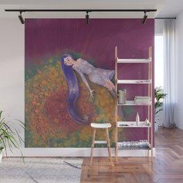 Lavender Wall Mural