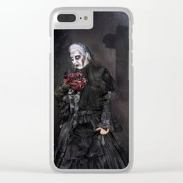 Black Widow - Halloween Clear iPhone Case