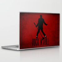 rock n roll Laptop & iPad Skins featuring Rock N Roll by Eleanor Rose