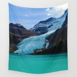 Berg Glacier in Mount Robson Provincial Park BC Wall Tapestry