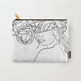 undress my mind Carry-All Pouch