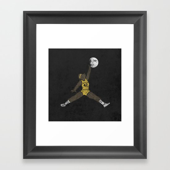 air teen wolf Framed Art Print
