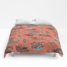 WELCOME TO PALM SPRINGS Comforters