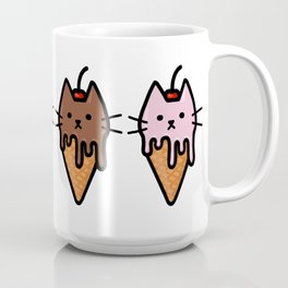 Kitty Ice Cream Coffee Mug
