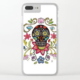 Calaca Dieguito Clear iPhone Case