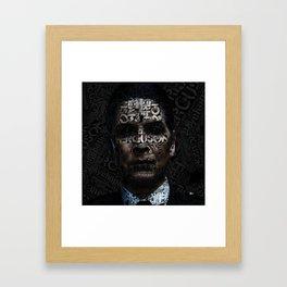 Joan Ferguson  I am to scare... Framed Art Print