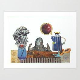 Persuasive power Art Print