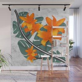 The Orange Wanderers Story Wall Mural