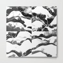 Mountains of Nippon Metal Print