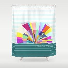 loco in acapulco Shower Curtain
