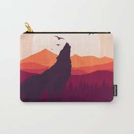 Bark At The Moon Carry-All Pouch