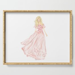 The Pink Dress Serving Tray